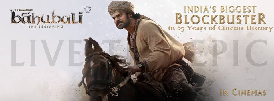 Baahubali : MOST WATCHED film at Indian Box-office